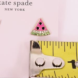 kate spade Jewelry - Kate Spade Picnic Perfect Watermelon Stud Earrings